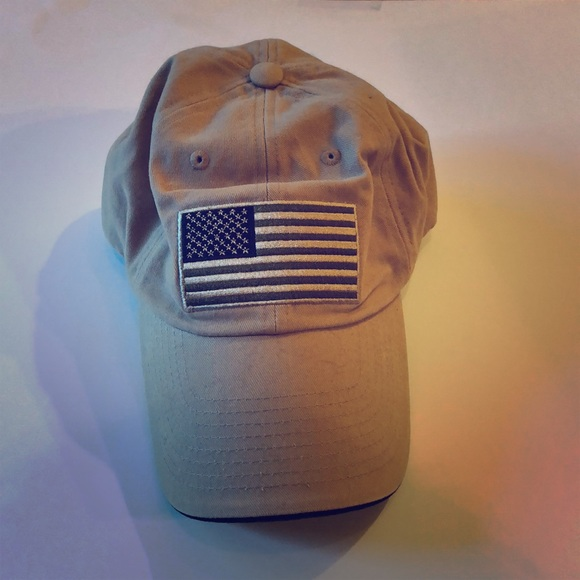 LA Police Gear Other - Tan and olive green American flag hat 88b7779d221